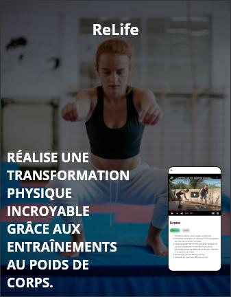 Réalise une transformation physique incroyable grâce aux entrainements au poids du corps